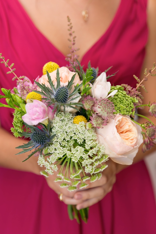 Wedding flowers at Ashwell, Hertfordshire
